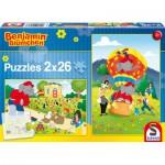 Puzzle  Schmidt-Spiele-56076 Spiel und Spaß mit Benjamin