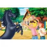 Puzzle  Schmidt-Spiele-56078 Der wilde Hengst