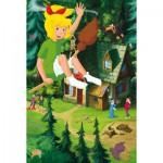 Puzzle  Schmidt-Spiele-56079 Hoch über Manias Haus