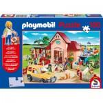 Puzzle  Schmidt-Spiele-56091 Tierarztpraxis, mit Original Figur