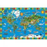 Puzzle  Schmidt-Spiele-56118 Deine bunte Erde