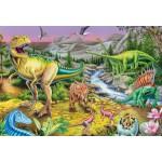 Puzzle  Schmidt-Spiele-56121 Die Zeit der Dinosaurier