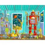 Puzzle  Schmidt-Spiele-56159 Roboter