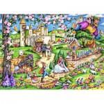 Puzzle  Schmidt-Spiele-56160 Märchenwelt