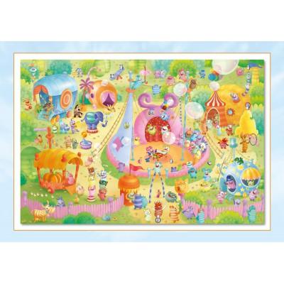 Puzzle Schmidt-Spiele-56170 Sorgenfresser: Manege frei!