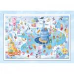 Puzzle  Schmidt-Spiele-56172 Sorgenfresser: Winterspaß