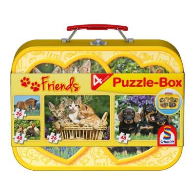 Puzzle Schmidt-Spiele-56499 Haustiere