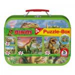 Puzzle  Schmidt-Spiele-56506 Die Dinosaurier