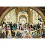 Puzzle  Schmidt-Spiele-57290 100 Jahre Film