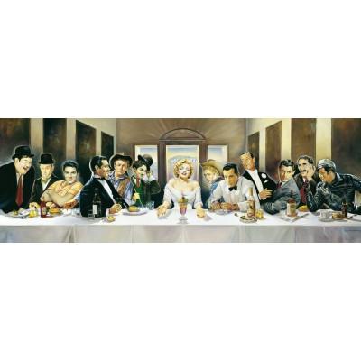 Puzzle Schmidt-Spiele-57291 Dinner der Berühmten