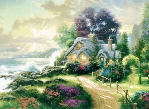 Puzzle Schmidt-Spiele-57443 Das Haus am Meer