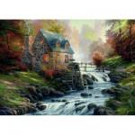 Puzzle  Schmidt-Spiele-57486 Bei der alten Mühle