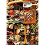 Puzzle  Schmidt-Spiele-58141 Küchen-Potpourri