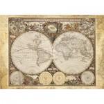 Puzzle  Schmidt-Spiele-58178 Historische Weltkarte