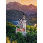Puzzle  Schmidt-Spiele-58179 Romantisches Schloss Neuschwanstein
