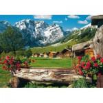 Puzzle  Schmidt-Spiele-58192 Österreich - Deutschland: Karwendel-Massiv
