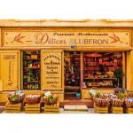 Puzzle  Schmidt-Spiele-58204 Delikatessen der Provence