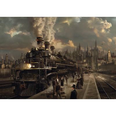 Puzzle Schmidt-Spiele-58206 Lokomotive