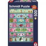 Puzzle  Schmidt-Spiele-58214 Paradies-Banderolen