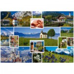 Puzzle  Schmidt-Spiele-58222 In den Bergen