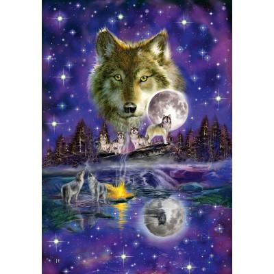 puzzle wölfe