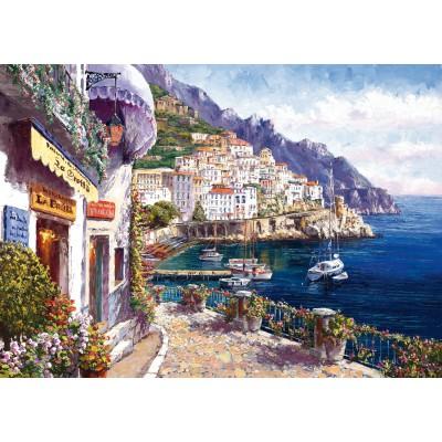 Puzzle Schmidt-Spiele-59271 Amalfi am Nachmittag
