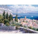 Puzzle  Schmidt-Spiele-59272 Sam Park: Über den Dächern von Saint-Tropez, Frankreich