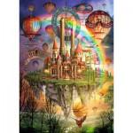 Puzzle  Schmidt-Spiele-59276 Regenbogenland