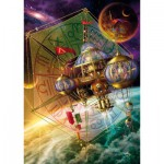 Puzzle  Schmidt-Spiele-59277 Weltraumstation