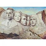 Puzzle  Schmidt-Spiele-59310 Renato Casaro, Mount Hollywood
