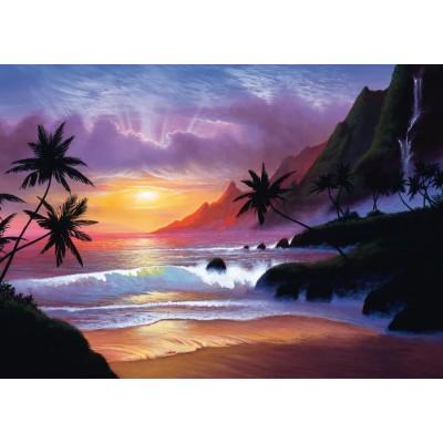 Puzzle Schmidt-Spiele-59319 Jon Rattenbury, Paradiesische Bucht