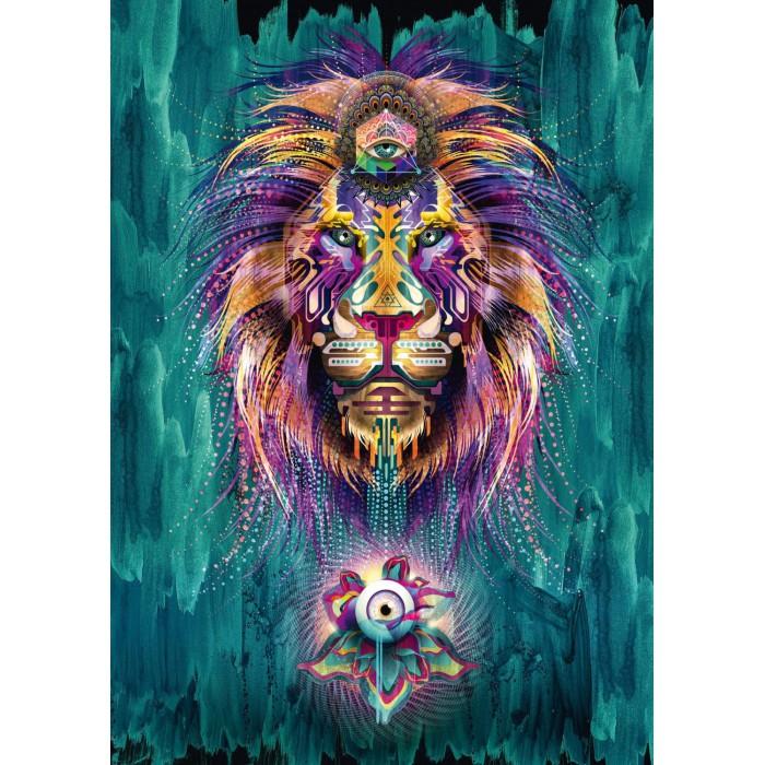 Chris Saunders, Leuchtender Löwe