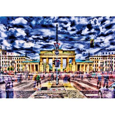 Puzzle Schmidt-Spiele-59332 Michael von Hassel, Brandenburger Tor, Berlin