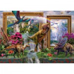 Puzzle  Schmidt-Spiele-59336 Jan Patrik Krasny, Dinosaurier