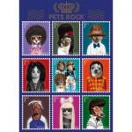 Puzzle  Schmidt-Spiele-59343 Pets Rock, Musik