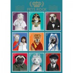 Puzzle  Schmidt-Spiele-59346 Pets Rock, Historie