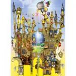 Puzzle  Schmidt-Spiele-59354 Colin Thompson, Luftschloss