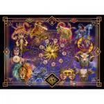 Puzzle  Schmidt-Spiele-59356 Ciro Marchetti, Sternzeichen