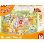 Puzzle  Schmidt-Spiele-59369 Sorgenfresser, Manege frei!