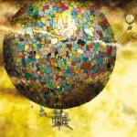 Puzzle  Schmidt-Spiele-59400 Colin Thompson: Fantastische Ballonfahrt