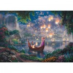 Puzzle  Schmidt-Spiele-59480 Thomas Kinkade - Disney Rapunzel