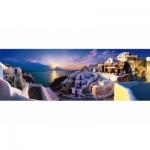 Puzzle   Sonnenuntergang auf Santorin