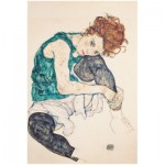 Puzzle   Egon Schiele - Sitzende Frau mit gebeugten Knie, 1917