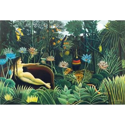 Puzzle-Michele-Wilson-455-250 Puzzle aus handgefertigten Holzteilen - Douanier Rousseau