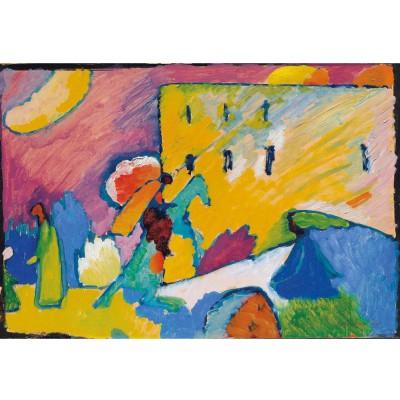 Puzzle-Michele-Wilson-A168-1000 Puzzle aus handgefertigten Holzteilen - Kandinsky