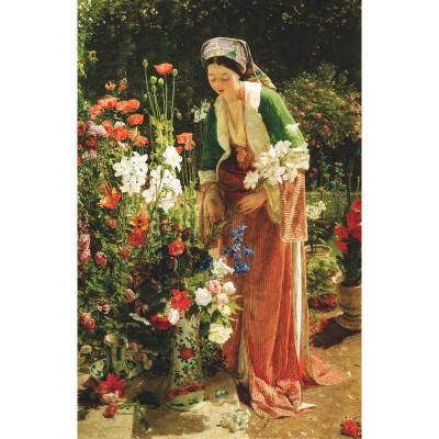Puzzle-Michele-Wilson-A204-900 Puzzle aus handgefertigten Holzteilen - Lewis: Im Garten