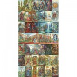 Puzzle  Puzzle-Michele-Wilson-A211-5000 Florence Magin: Das Tarot von Amber