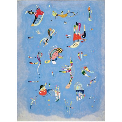 Puzzle-Michele-Wilson-A220-80 Holzpuzzle - Kandinsky Vassily: Blauer Himmel