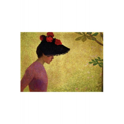 Puzzle-Michele-Wilson-A230-80 Puzzle aus handgefertigten Holzteilen - Aristide Maillol: Junges Mädchen im Profil