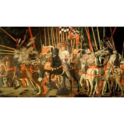 Puzzle-Michele-Wilson-A251-500 Puzzle aus handgefertigten Holzteilen - Uccello: Schlacht von San Romano
